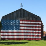 """Patriotic Barn"" by Lauren Burbank"