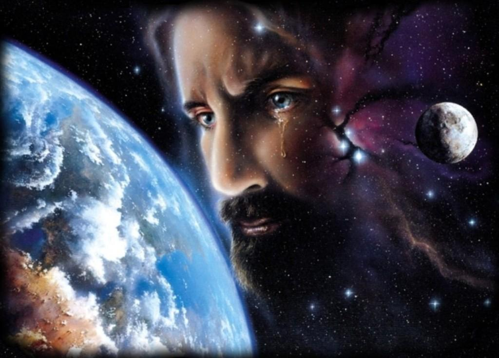 Cosmic Christ w tear